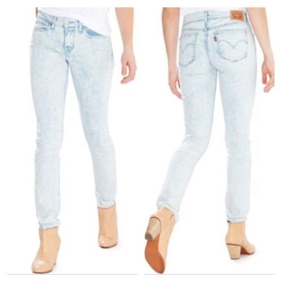 4e6fa9b9712 Levi's Jeans | Nwt Levis 711 Skinny Acid Wash 31x32 | Poshmark